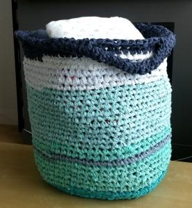 Rag Rug Basket