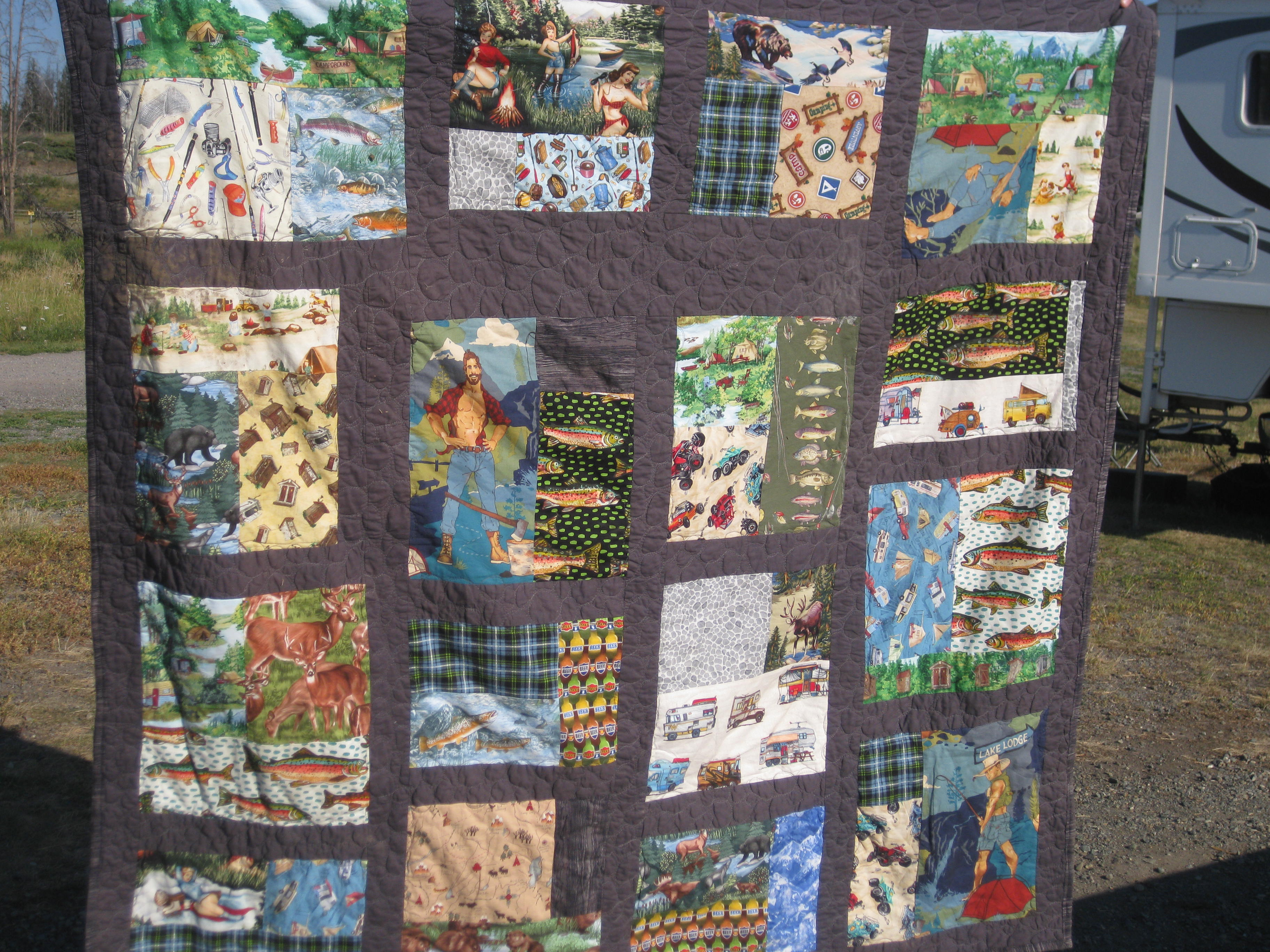 Cute Camping Quilt! - Making Things is Awesome : camping quilt - Adamdwight.com